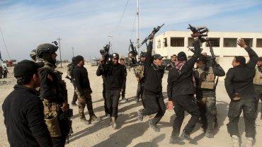 Tropas iraquíes celebraron la recuperación de Ramadi, ex bastión de ISIS