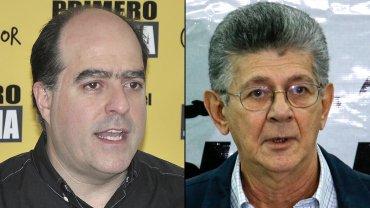 Julio BorgesyHenry Ramos Allupson los principales candidatos para presidir la Asamblea Nacional