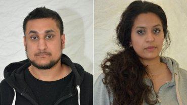 Mohamed Rehman y Sana Ahmed
