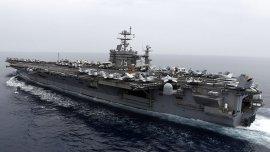 El portaaviones USS Harry S. Truman