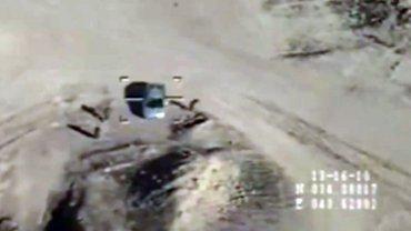 El Ejército de Irak difundió las imágenes del golpe contra los terroristas del Estado Islámico (ISIS)