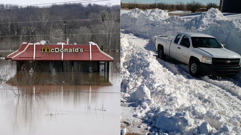 Los tornados no son un fenómeno común en el mes de diciembre en EEUU