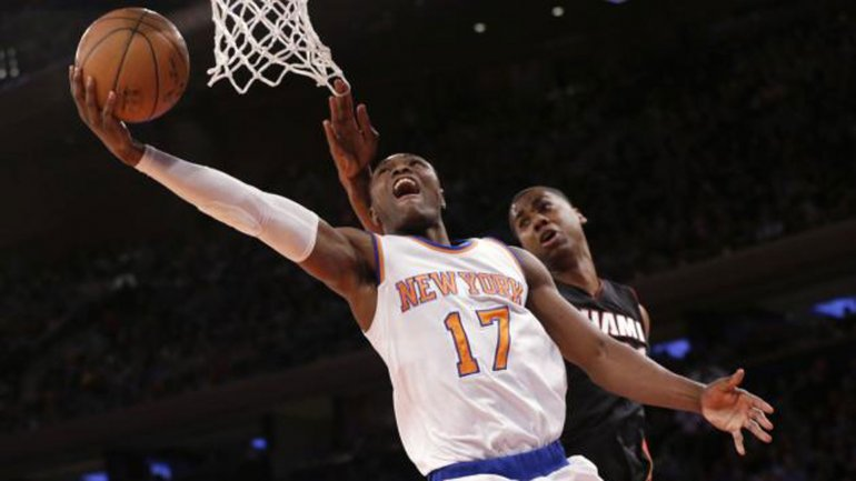 Cleanthony Early, jugador de los New York Knicks de la NBA