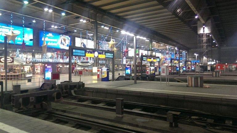 Hauptbahnhof, la estación central de trenes de Munich