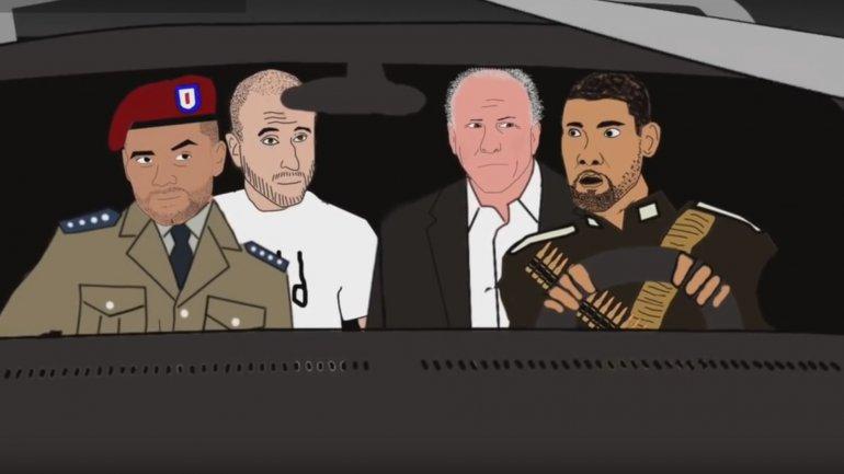 Ginóbili y los Spurs luchan contra el mal en una divertida serie animada
