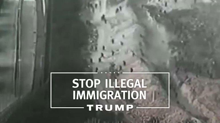 Donlad Trump ataca a los inmigrantes en su primer spot de campaña