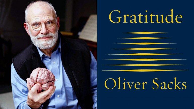 Gratitud, el libro de Oliver Sacks que enseña cómo enfrentar los últimos momentos de la vida.