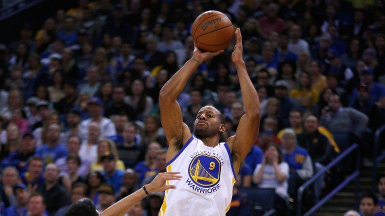 Andre Iguodala fue elegido MVP de las últimas finales de la NBA