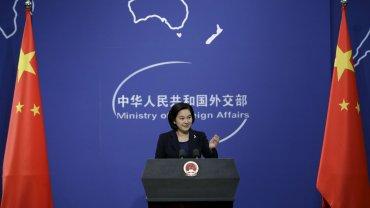 Hua Chunying, vocera de la Cancillería de China