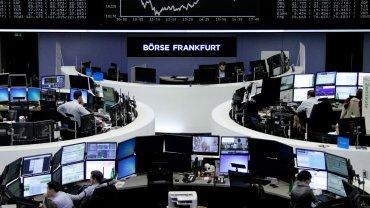 La bolsa de Frankfurt en Alemania