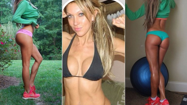 Laura Gordon tiene 48 años, pero aparenta 20 años menos