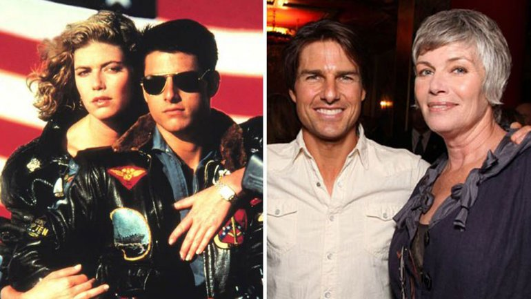 El antes y después de Tom Cruise y Kelly McGillis