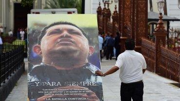 Los afiches y cuadros que retrataban a Hugo Chávezfueron removidosdel Parlamento