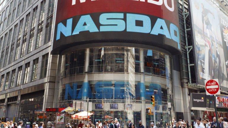 La sede del Nasdaq, la bolsa donde cotizan las empresas tecnológicas en pleno corazón de Manhattan, en Nueva York.