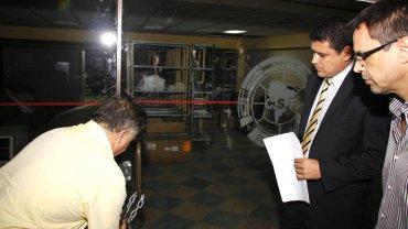El allanamiento en la sede central de la Conmebol en Paraguay