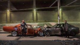 Vin Diesel y Jason Statham en Rapido y Furioso 7