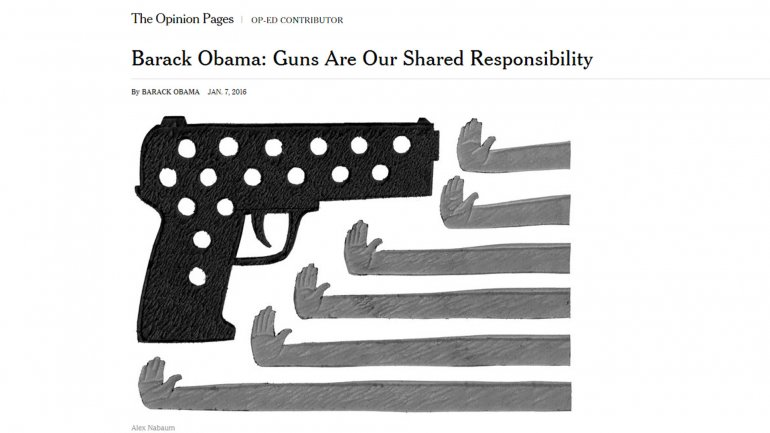 El editorial de Barack Obama en The New York Times