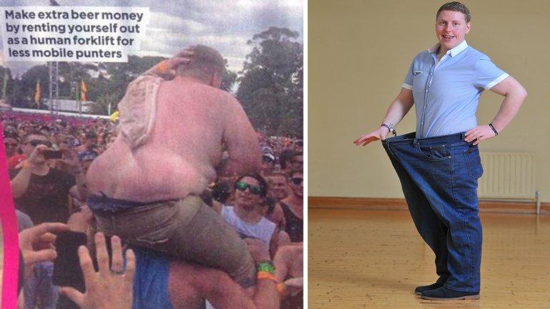 La imagen que hizo reaccionar a Paul Moore y su figura actual