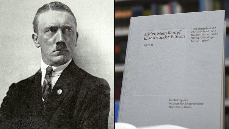 Adolf Hitler y el libro Mi lucha