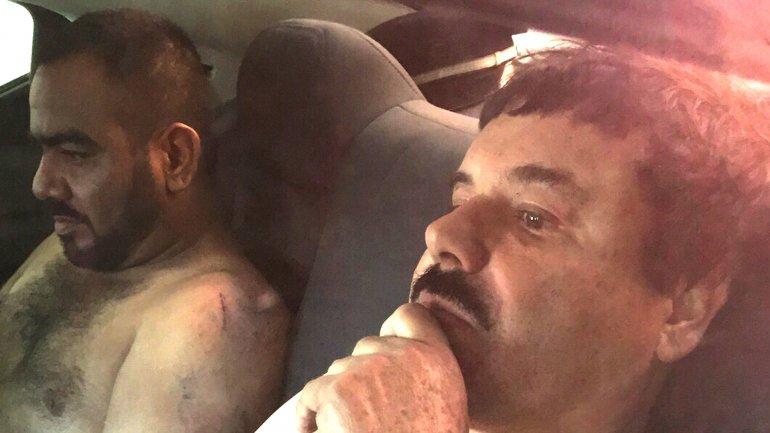 Joaquín El Chapo Guzmán y su jefe de sicarios, Jorge IvánEl CholoGastélumÁvila