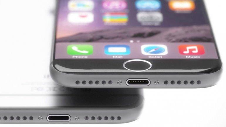 Así se vería el próximo iPhone sin entrada de auriculares.