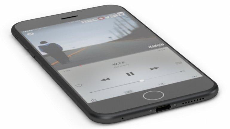 Otro boceto de iPhone 7 sin auriculares.