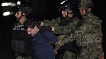 El Chapo Guzmán fue caputrado el viernes en Los Molchis