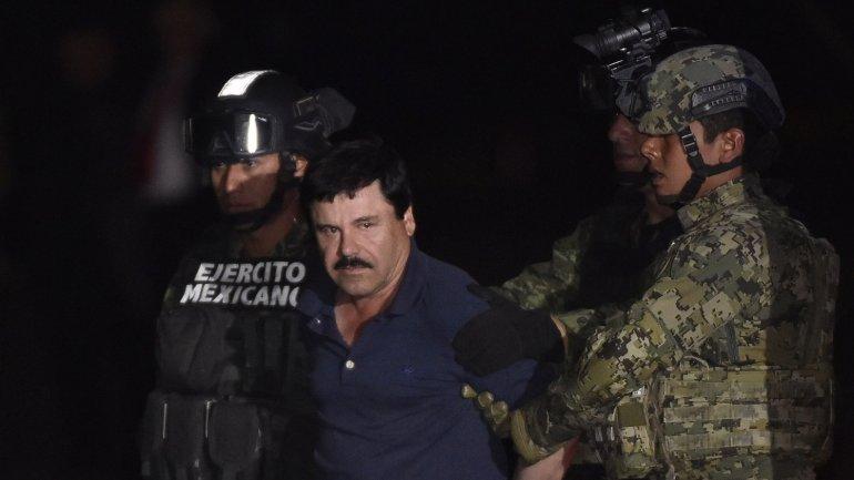 El narco mexicano Joaquin El Chapo Guzmán fue capturado por tercera vez en México el viernes pasado