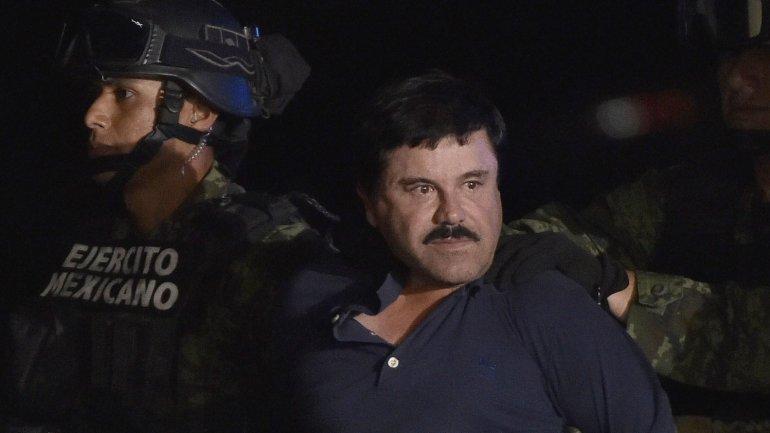 El Chapo capturado por las fuerzas armadas