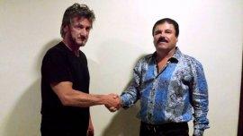 La foto tomada el 2 de octubre de 2015, Sean Penn y El Chapo Guzmán juntos