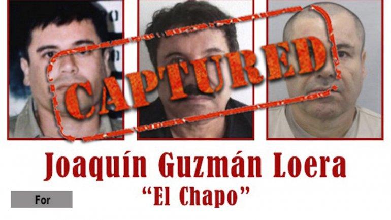 El Chapo Guzmán fue capturado el viernes pasado después de seis meses de permanecer prófugo