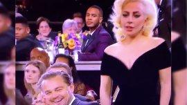 Leonardo Di Caprio y Lady Gaga