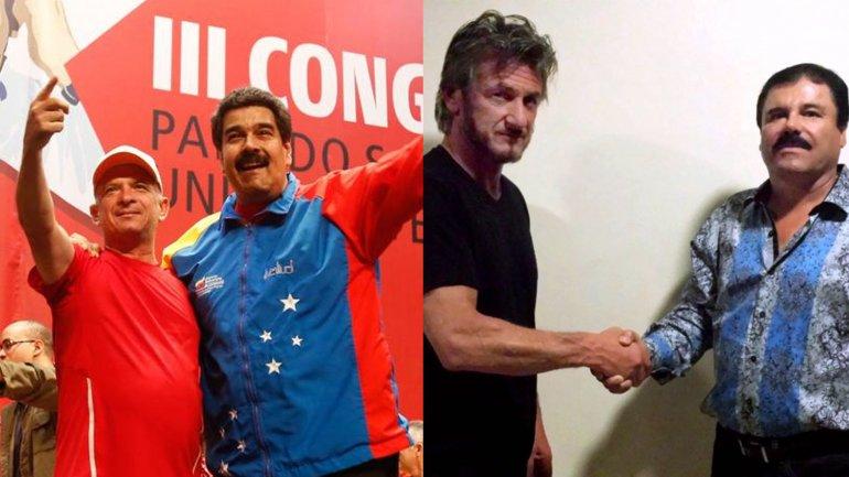 Hugo Caravajal habría auspiciado el encuentro entre Sean Penn y uno de los hijos de El Chapo Guzmán