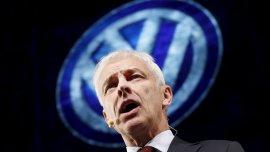 El director ejecutivo de Volkswagen, Matthias Müller, fue designado tras el escándalo de las emisiones manipuladas