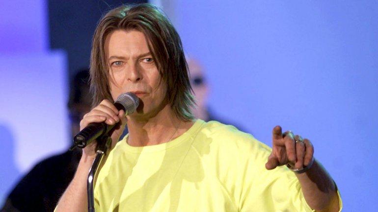 El cantante británico en la presentación de uno de sus discos en el programa de televisión alemán