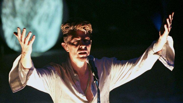 El artista británico en el teatro Vic de Chicago en septiembre de 1997