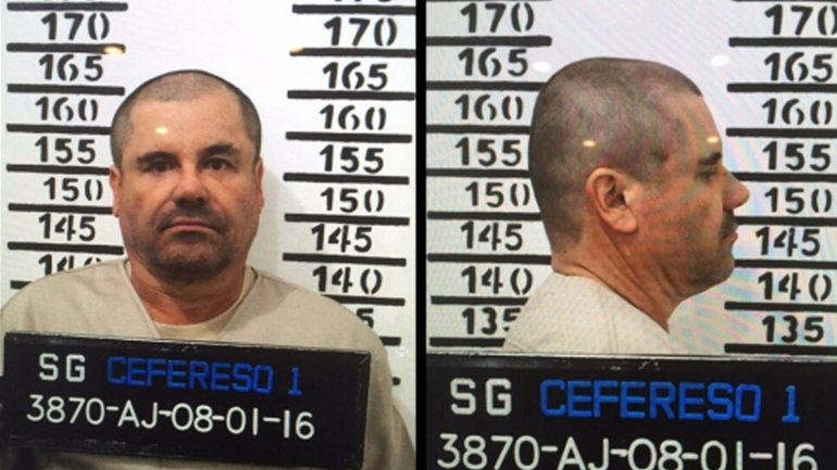 Joaquín El Chapo Guzmán aparece sin pelo ni bigote