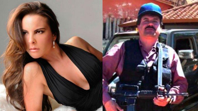 Kate del Castillo y Joaquín El Chapo Guzmán