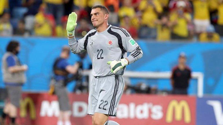 Faryd Mondragón, ex portero de la selección colombiana