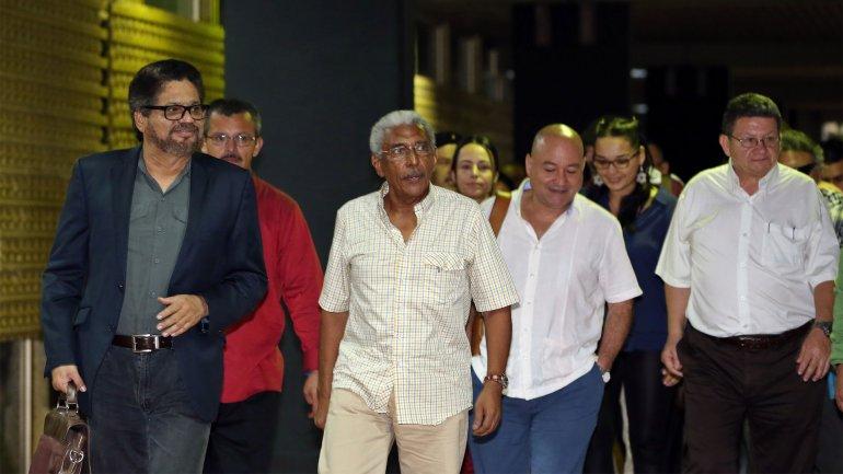 Los negociadores de las FARC retomaron el diálogo con el gobierno de Colombia en Cuba