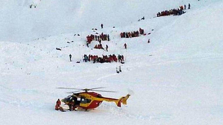 La avalancha se produjo en laestación de Deux Alpes y les costó la vida a dos adolescente franceses de 14 años y a un ucraniano