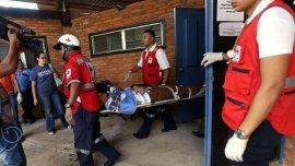Al menos 12 personas resultaron heridas en el accidente automovilístico