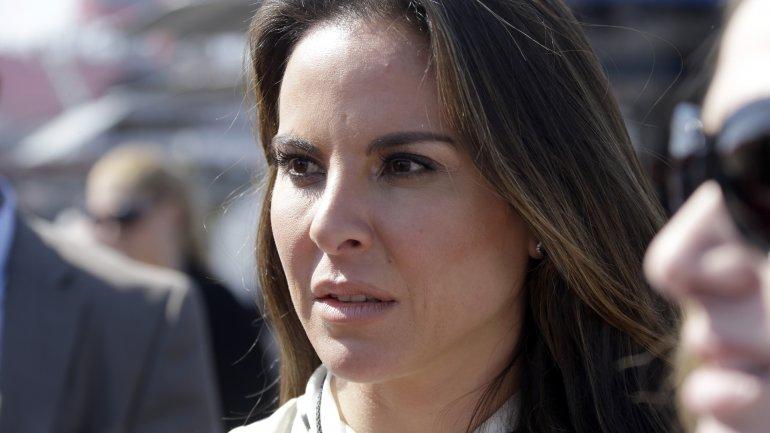 Una imagen de 2013 de Kate del Castillo, envuelta en un escándalo por su cercanía con El Chapo Guzmán