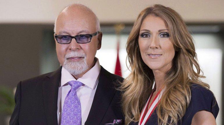 Celine Dion y su marido, René Angélil