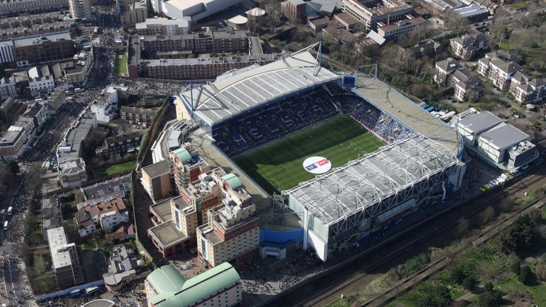 Stamford Bridge, el estadio del Chelsea