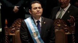 Jimmy Morales asumió como nuevo presidente de Guatemala