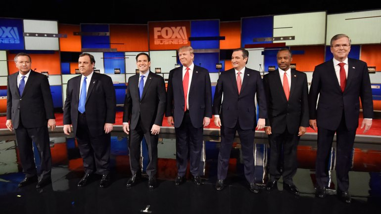 Los precandidatos republicanos en Carolina del Sur
