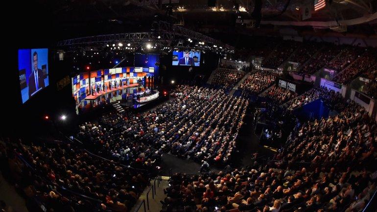 El debate republicano se llevó a cabo en Carolina del Sur