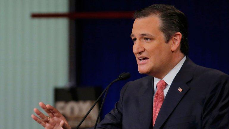El senador Ted Cruz