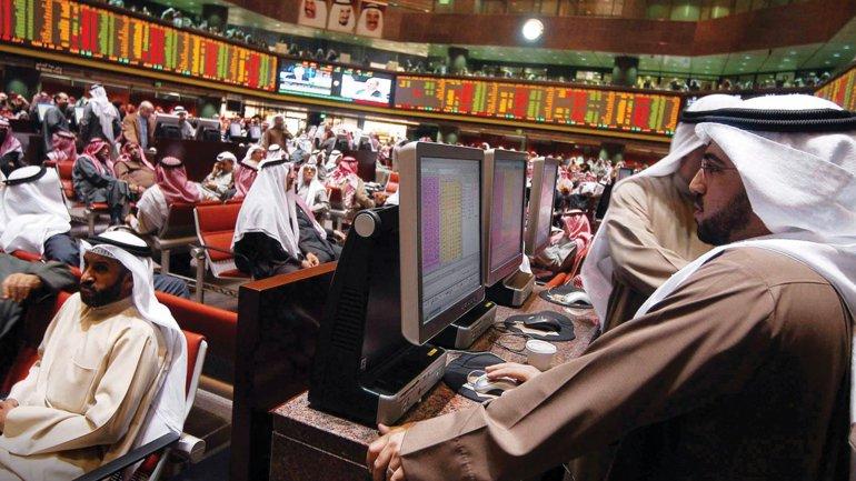 Las bolsas del Golfo se desplomaban tras el acuerdo con Irán